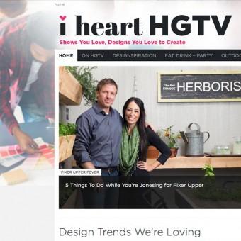 Designer for I Heart HGTV | Hannah B. Design